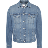 Outerwear Men's Clothing Tommy Hilfiger Denim Faded Trucker Jacket - Lincoln Mb Com