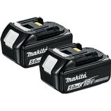 Batteries & Chargers Makita BL1850 2-pack