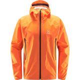 Jackets Men's Clothing Haglöfs L.I.M Proof Multi Jacket - Flame Orange
