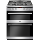 Gas Cooker Amica AFG6450SS Stainless Steel Stainless Steel
