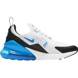 Children's Shoes Nike Air Max 270 GS - White/Black/Signal Blue