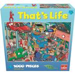 Goliath That's Life Puzzle Garage 1000 Pieces