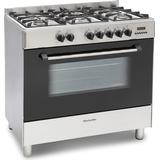 Gas Cooker Montpellier MR91DFMX Stainless Steel
