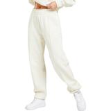Trousers Women's Clothing Nike Sportswear Essential Fleece Trousers - Coconut Milk/White