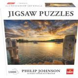 Classic Jigsaw Puzzles Goliath Sunset Over Pittwater 1000 Pieces