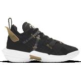 "Nike air jordan 4 Children's Shoes Nike Jordan""Why Not?"" Zer0.4 GS - Black/Metallic Gold/White"