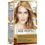Permanent Hair Colour L'Oreal Paris Excellence Age Perfect #7.32 Medium Gold Pearlescent Blonde