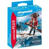 Playmobil pirate Toy Figures Playmobil Pirate with Raft 70598