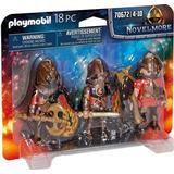Action Figures Playmobil Burnham Raiders Set 70672