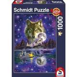Schmidt Wolf in the Moonlight 1000 Pieces