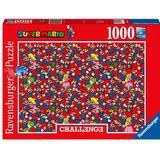 Classic Jigsaw Puzzles Ravensburger Super Mario Challenge 1000 Pieces