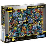 Classic Jigsaw Puzzles Clementoni Impossible Puzzle Batman 1000 Pieces