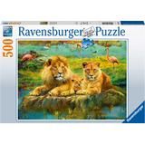 Ravensburger Lion in the Savannah 500 Pieces