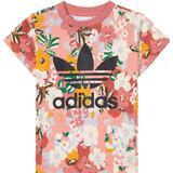 Adidas Infant's Her Studio London Floral T-shirt - Trace Pink/Multicolor/Black (GN2262)