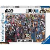 Jigsaw Puzzles Ravensburger Star Wars the Mandalorian Challenge Baby Yoda 1000 Pieces