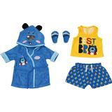 Toys Zapf Baby Born Bath Deluxe Boy Outfit 43cm