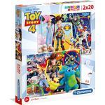 Clementoni Super Color Toy Story 4 2x20