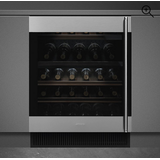 Wine Cooler Smeg CVI338LX3 Silver, Black