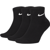 Accessories Nike Everyday Cushioned Training Ankle Socks 3-pack Unisex - Black/White