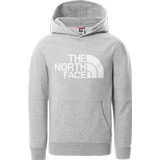 The North Face Youth Drew Peak Light Hoodie - TNF Light Grey Heather (NF0A55AUDYX)