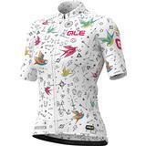 Cycling Tops Alé Graphics PRR Versilia Short Sleeve Jersey Women - White