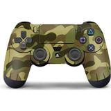 Grey ps4 controller Gaming Accessories Slowmoose PS4 Controller Vinyl Skin - Grey Camouflage