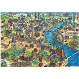 Educa London Map 500 Pieces