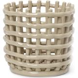 Baskets Ferm Living Ceramic 16cm Basket
