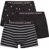 Men's Underwear Polo Ralph Lauren Trunks 3-pack - Multicolour