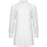 Women's Clothing Noella Lucille Long Shirt - White