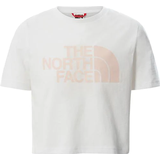 The North Face Girls' Easy Cropped T-Shirt - TNF White (558X)