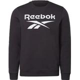 Sweaters & Hoodies Reebok Identity Fleece Crew Sweatshirt - Black/White