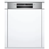 60 cm - Semi Integrated Dishwashers Bosch SMI2ITS33G Stainless Steel