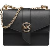 Handbags Michael Kors Greenwich Small Crossbody Bag - Black