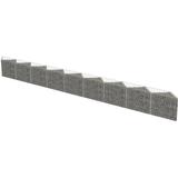 vidaXL Gabion Wall 630x30cm