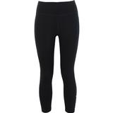 Tights Nike One Mid-Rise Crop Leggings Women - Black/White