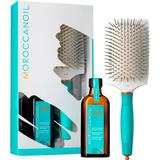 Gift Boxes, Sets & Multi-Products Moroccanoil Great Hair Day Oil Treatment + Paddle Brush