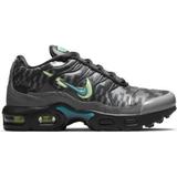 Children's Shoes Nike Air Max Plus PS - Smoke Grey/Lime Glow/Off-Noir/Aquamarine