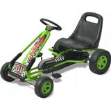 Pedal Cars vidaXL Pedal Go Kart with Adjustable Seat