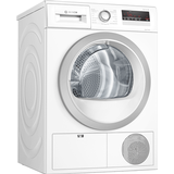 Tumble Dryers Bosch WTH85222GB White, Silver