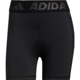 Tights Adidas Techfit Badge of Sport Short Tights Women - Black/White