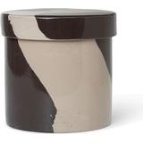 Storage Jars Ferm Living Inlay Storage Jars 14.5 cm