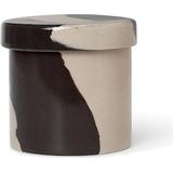 Storage Jars Ferm Living Inlay Storage Jars 9.8 cm