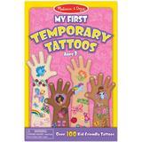 Melissa & Doug My First Temporary Tattoos 100+ Kid Friendly Tattoos
