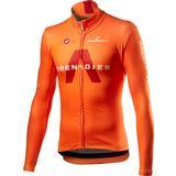 Cycling Tops Castelli Team Ineos Grenadier Long Sleeve Jersey Men - Orange