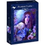 Bluebird Midnight Rose 1000 Pieces