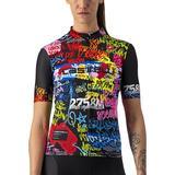 Cycling Tops Castelli Graffiti Jersey Women - Explosion
