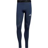 Adidas Techfit 3-Stripes Long Tights Men - Crew Navy