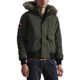 Men's Clothing Superdry Original & Vintage Everest Bomber Jacket - Army Khaki