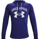 Sweaters & Hoodies Under Armour Rival Terry Big Logo Hoodie Men - Regal/Onyx White